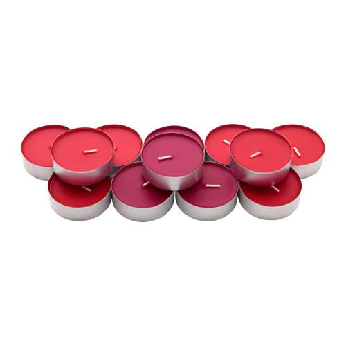 Набор ароматических свечей IKEA SINNLIG 12 шт красные ягоды 903.373.14