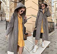 7af430451e7 Стильное женское длинное пальто демисезон 039