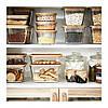 Контейнер для хранения продуктов IKEA 365+ 1 л прямоугольный стеклянный 703.591.99, фото 4