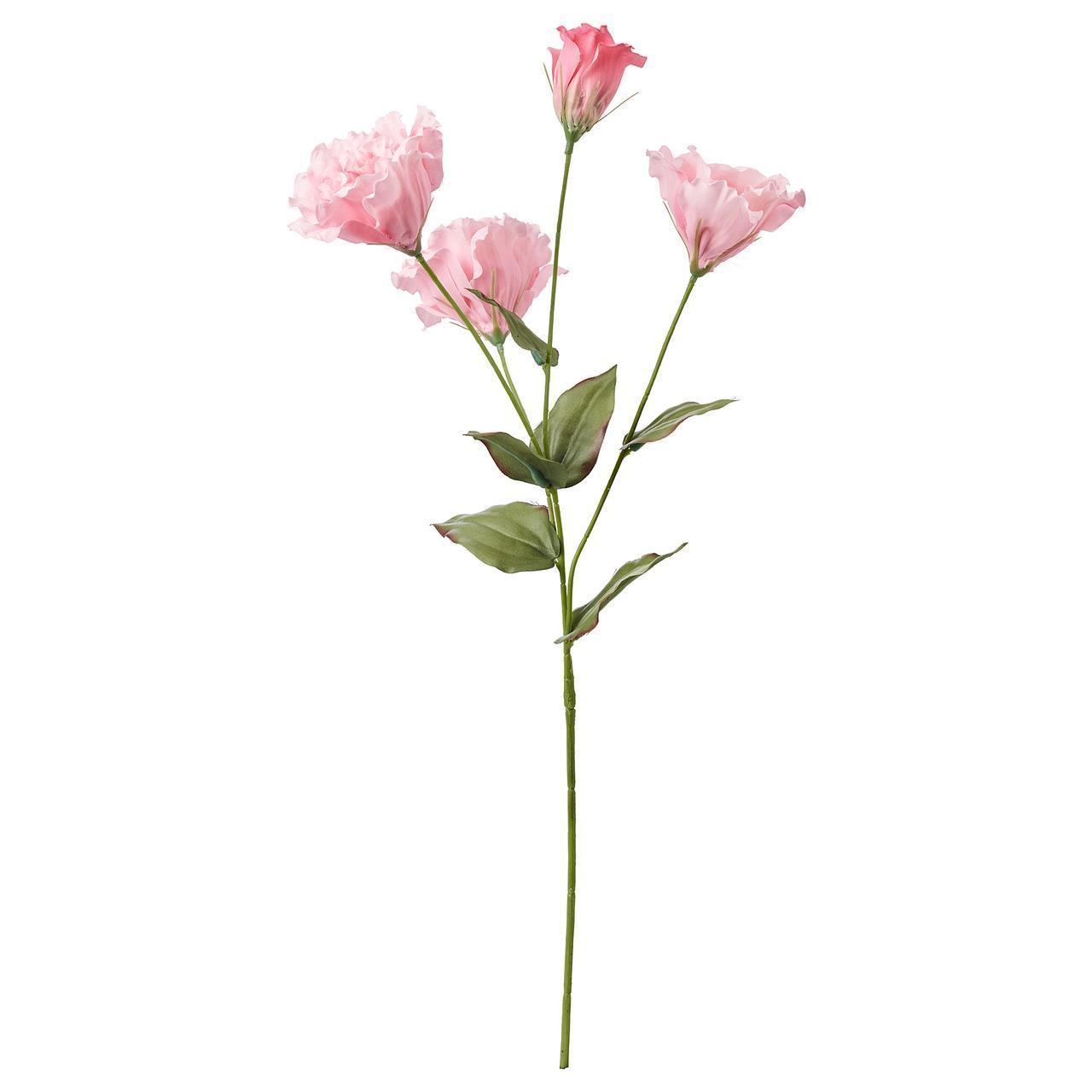 Штучний квітка IKEA SMYCKA 60 см рожевий 704.097.74