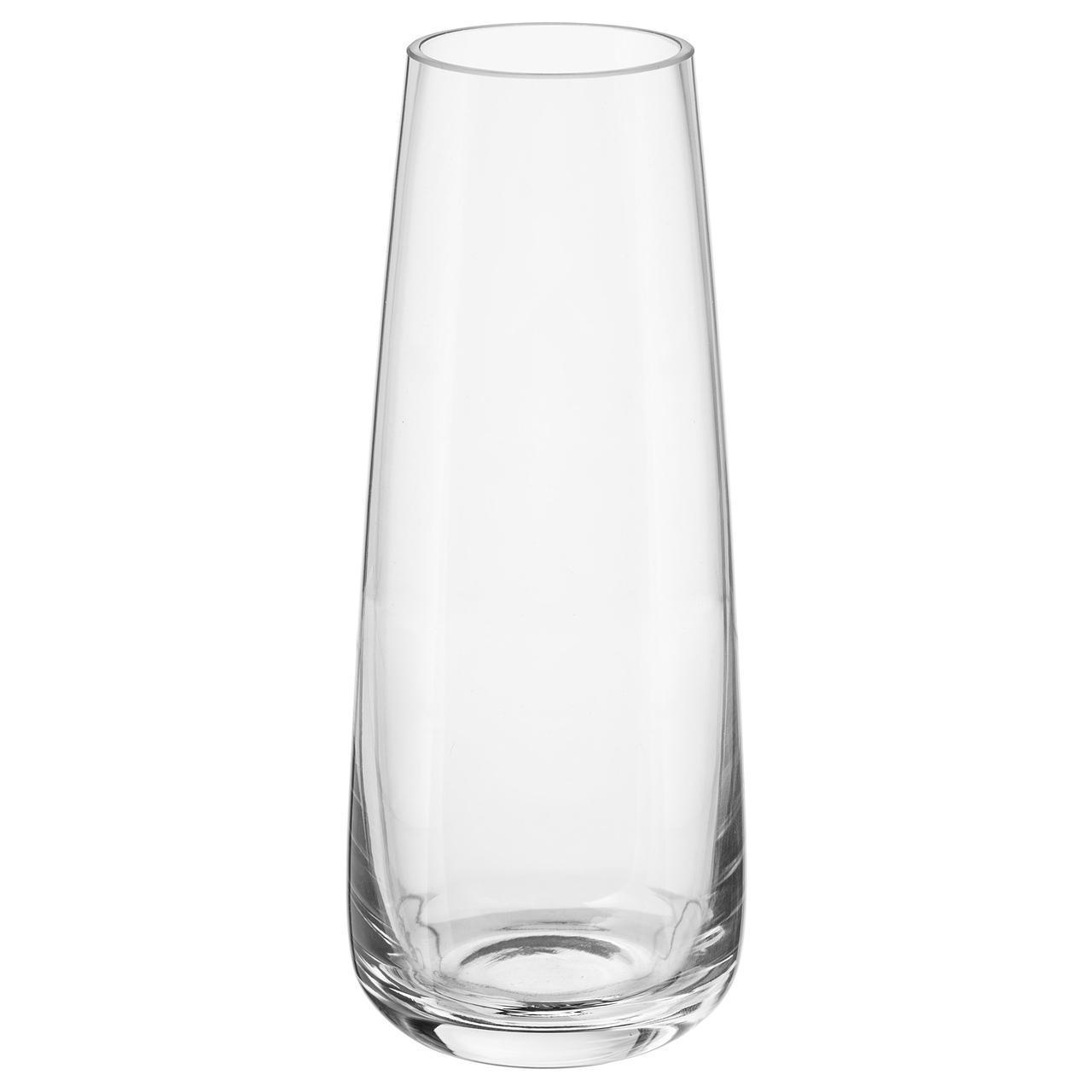 Ваза IKEA BERÄKNA 15 см прозрачное стекло 103.279.41