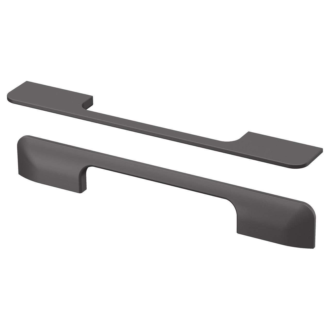 Мебельная ручка IKEA BERGHALLA 2 шт серый 103.228.54