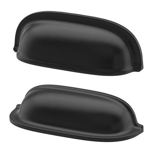 Мебельная ручка IKEA ENERYDA 2 шт 89 мм черный 503.475.17