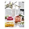 Контейнер для хранения продуктов IKEA 365+ 600 мл круглый с крышкой бамбук стекло 692.690.91, фото 3