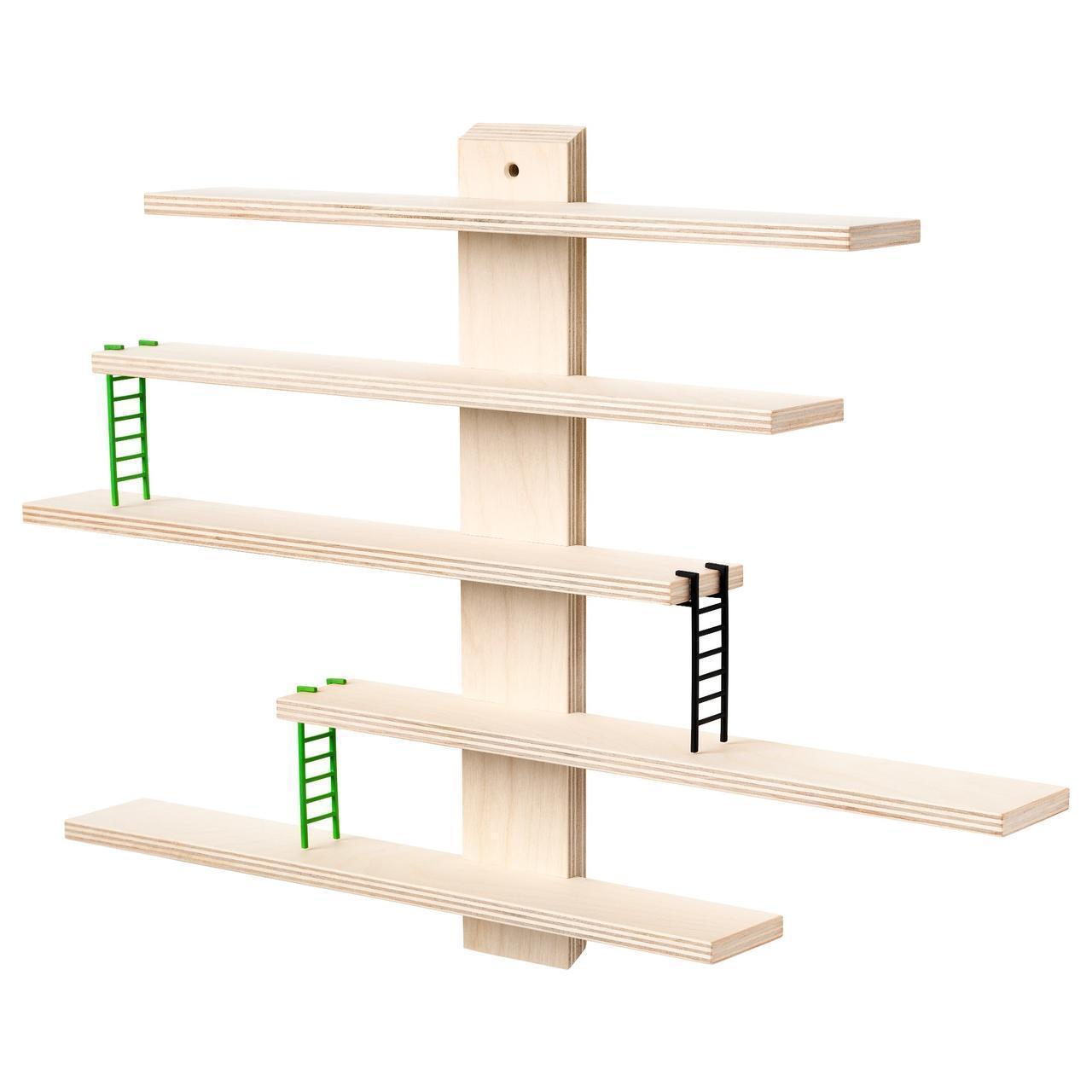 Полка IKEA LUSTIGT 37x37 см настенная 303.818.52
