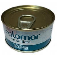 Calamar - кальмары в собственных чернилах 80 г