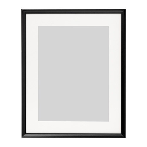 Рамка IKEA KNOPPÄNG 40x50 см черная 503.871.36