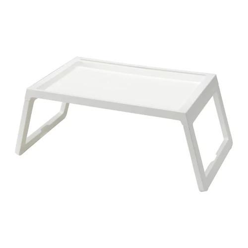 Поднос с ножками IKEA KLIPSK белый 002.588.82