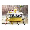Поднос с ножками IKEA KLIPSK белый 002.588.82, фото 2