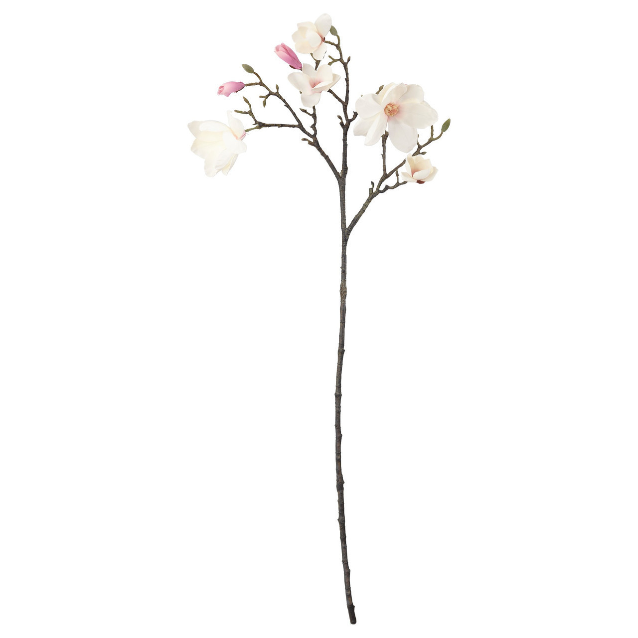 Искусственный цветок IKEA SMYCKA 110 см магнолия розовая 603.357.74