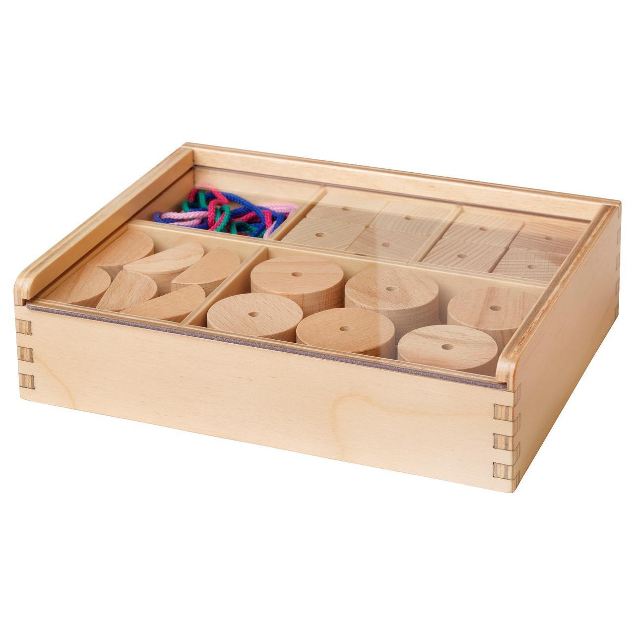 Детские бусины для творчества IKEA LUSTIGT 403.845.29
