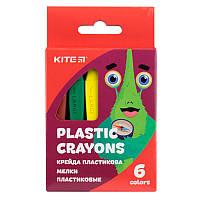 K19-072-6 Мелки пластиковые (6 цветов) KITE 2019 Jolliers 072-6
