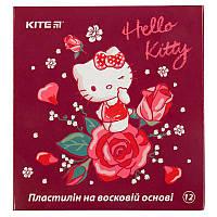 HK19-1086 Пластилин восковой (12 цветов, 240 г) KITE 2019 Hello Kitty 1086