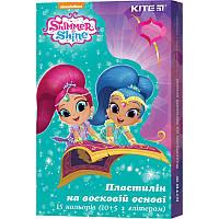 SH19-087 Пластилин восковой (15 цветов, 225 г) KITE 2019 Shimmer&Shine 087
