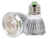 Лампа светодиодная Е27 COB 5Вт 220В (линза), фото 1