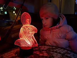 """Детский ночник - светильник """"Ра"""" 3DTOYSLAMP"""