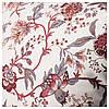 Подушка IKEA SPRÄNGÖRT 50x50 см белая розовая 203.957.55, фото 2