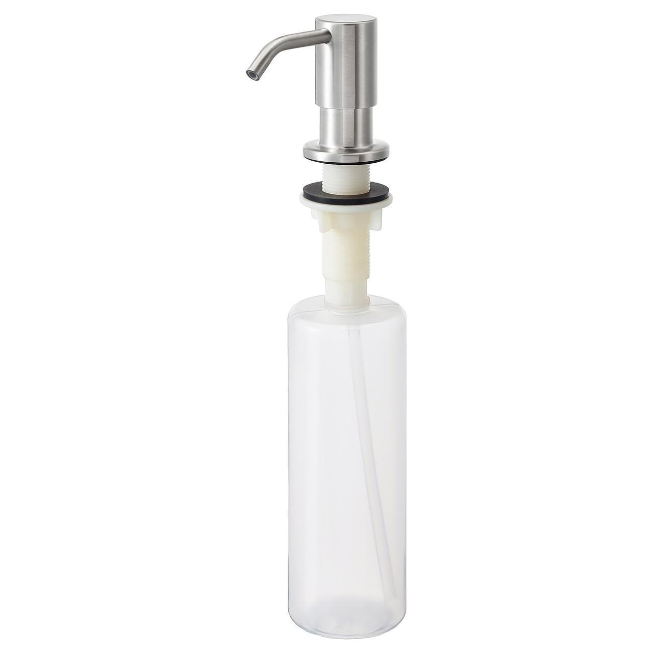 Дозатор для жидкого мыла IKEA KNIPEN 500 мл нержавеющая сталь 703.417.22