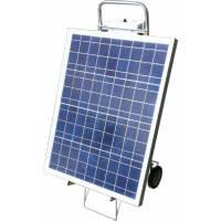 Солнечная станция 12-220 вольт 50 Вт с инвертором напряжения мощностью 150 Вт