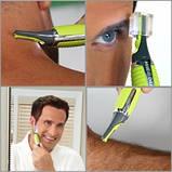 Тример для чоловіків Micro Touch Max, тример з підсвічуванням, фото 2