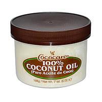 Кокосовое масло первого отжима 198 гр от Cococare