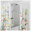 VIKARN Штанга для шторы в ванную, белый 503.060.17, фото 4