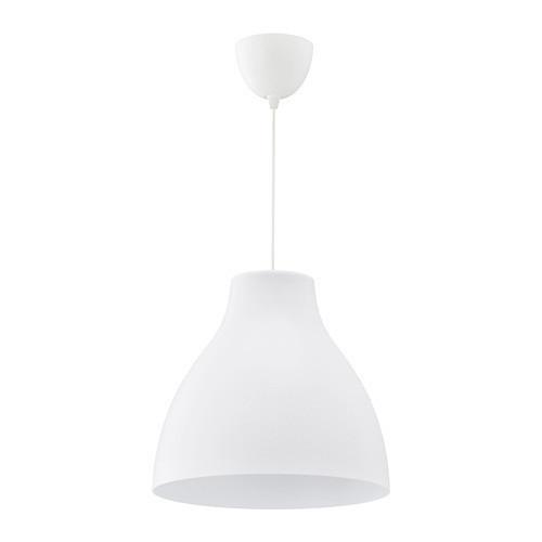 Подвесной светильник IKEA MELODI 38 см белый 103.865.39