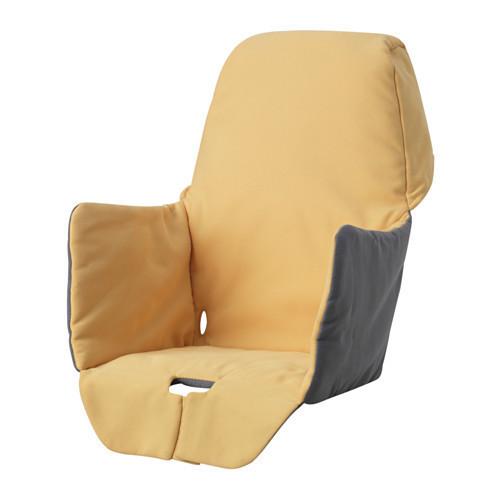 Чехол для высокого стульчика IKEA LANGUR желтый 303.469.86