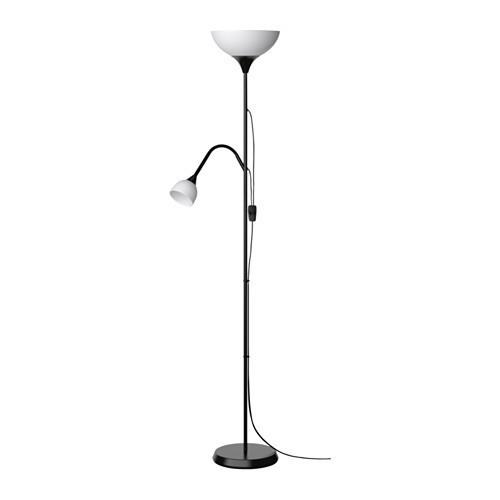 Торшер / лампа для чтения IKEA NOT черный 603.246.76