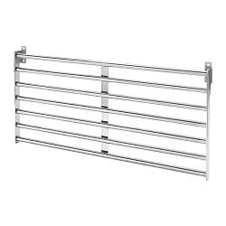 Настінна рейлинговая система IKEA KUNGSFORS 56х26.5см нержавіюча сталь 803.349.19