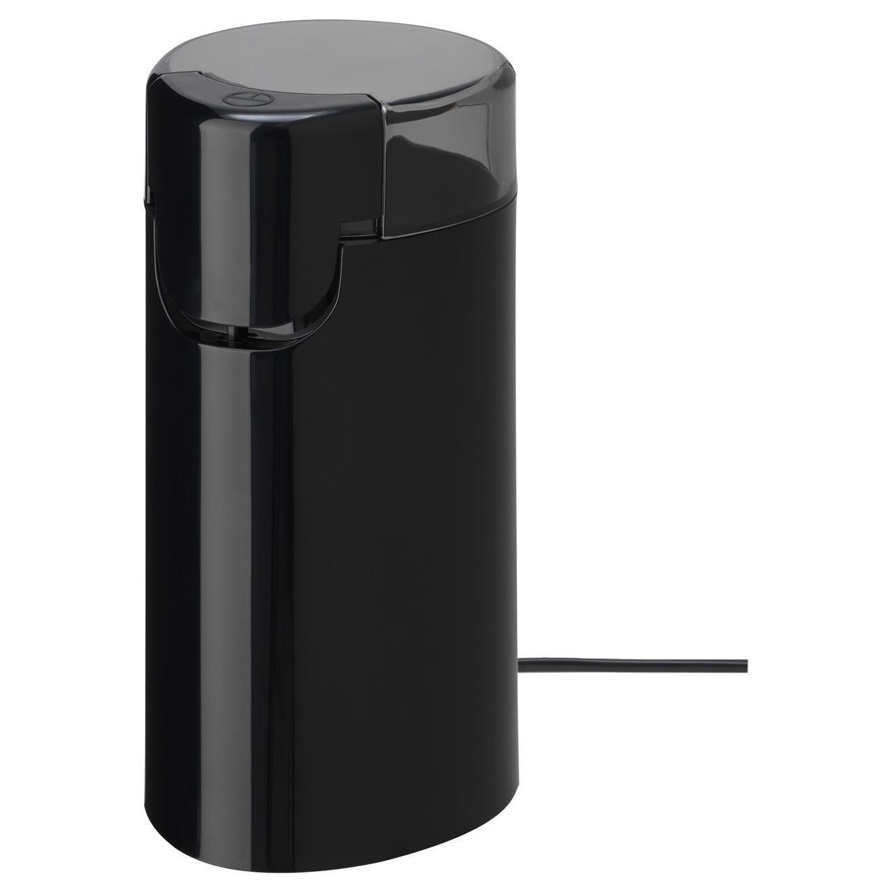 Кофемолка IKEA ALLMÄNNING електрическая черная 303.404.56