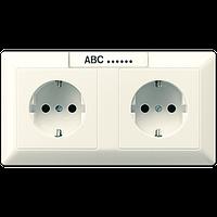 SCHUKO®-розетка для кабельных каналов 16 A / 250 B ~ AS1522NA