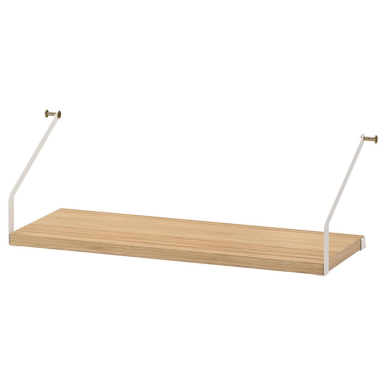 Полка IKEA SVALNÄS 61x25 см бамбук 003.228.59