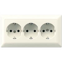 SCHUKO®-розетка для кабельных каналов 16 A / 250 B ~ AS523BF