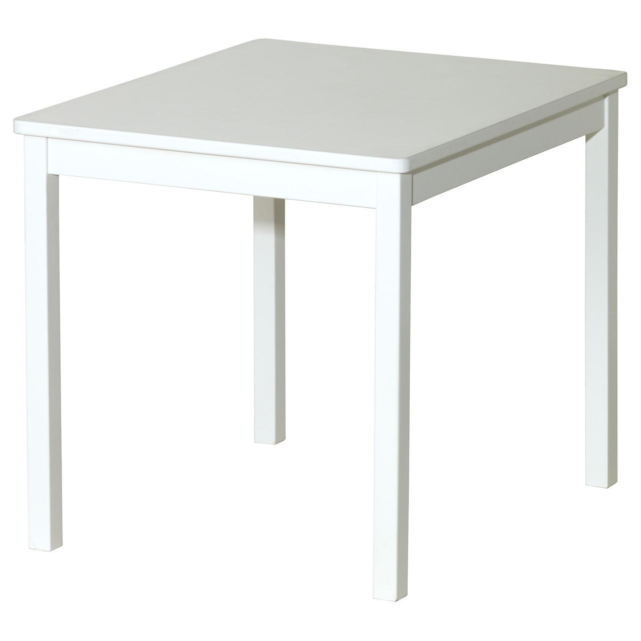 Столик детский IKEA KRITTER белый 401.538.59