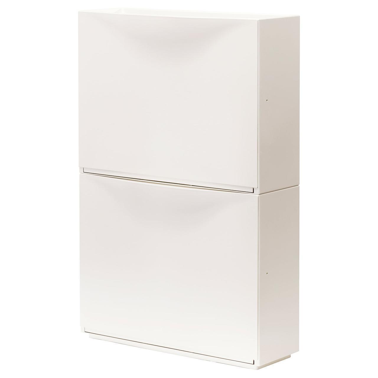 Шкафчик для обуви IKEA TRONES 52x39 см белый 003.973.07