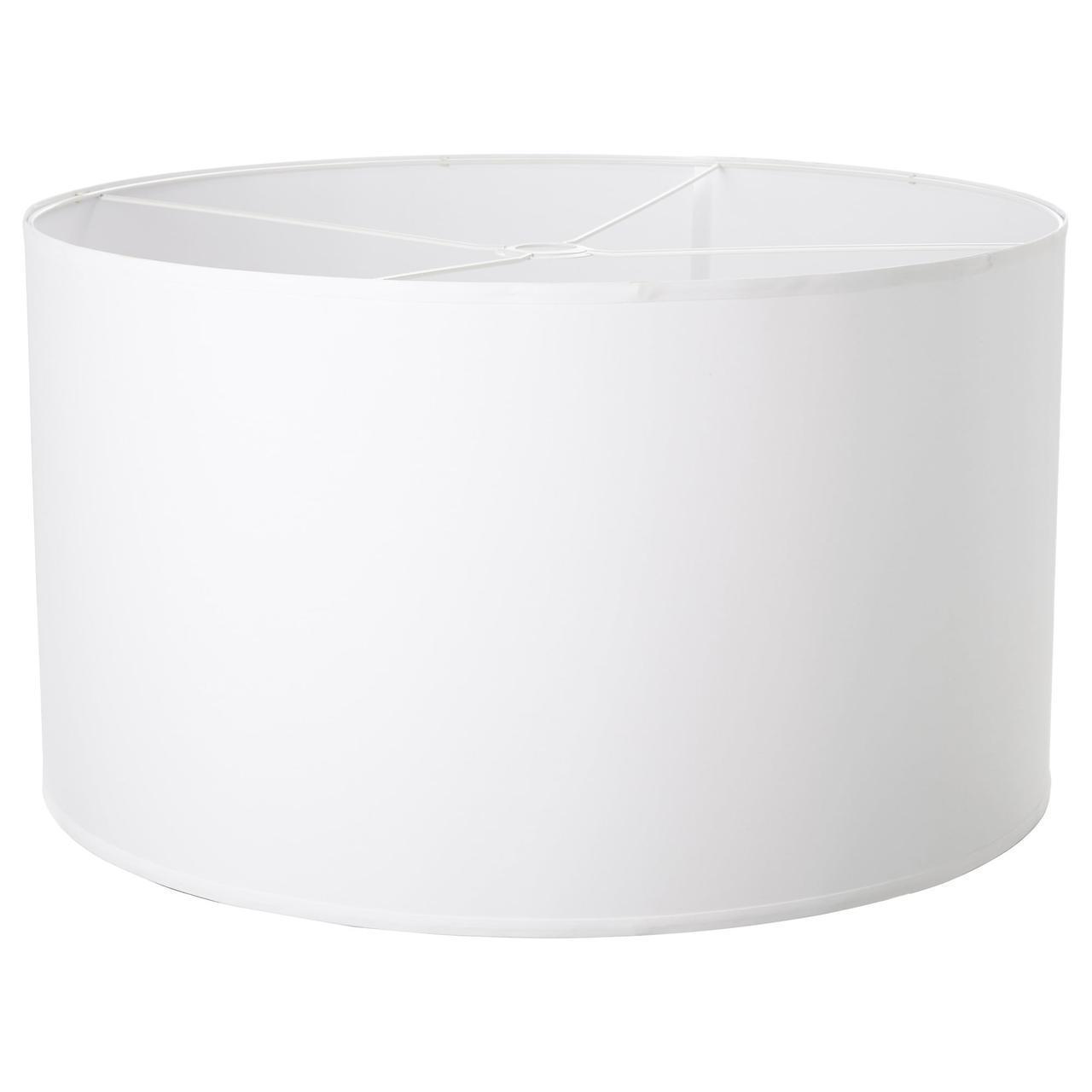 Абажур (плафон) для лампы IKEA NYMÖ 70 см белый 002.564.92