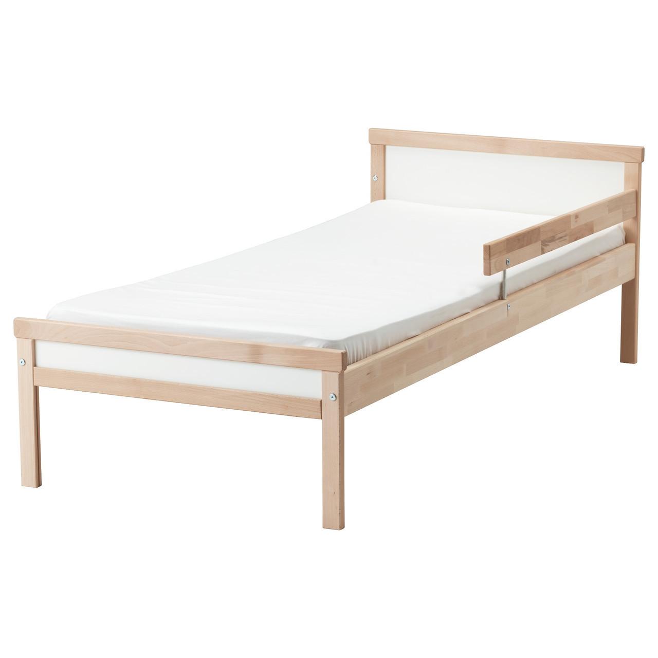 Каркас детской кровати IKEA SNIGLAR с дном из реек бук 191.854.33
