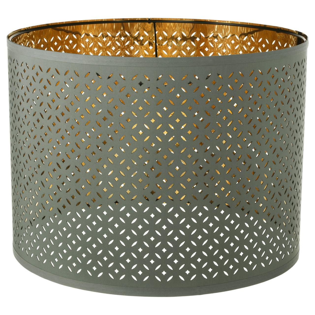 Абажур (плафон) для лампы IKEA NYMÖ 44 см цвет латуни 703.772.16