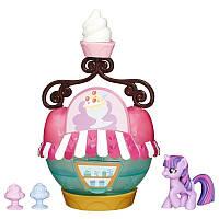 Коллекционный игровой набор My Little Pony Ice Cream Твайлайт Спаркл Магазинчик мороженого B5568