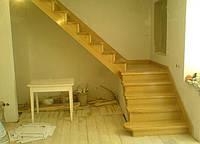 """Сходи «Маргарита"""" на замовлення дерев'яні, сходи дубові для дому фото"""