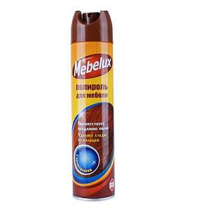 """""""Mebelux"""" - полироль для мебели с антистатиком 300 см3 12 шт. / Уп"""