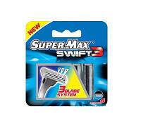 "Кассеты (3 лезвия) AT281 ""Супер-Макс"" картридже 4 шт. (200/20)"