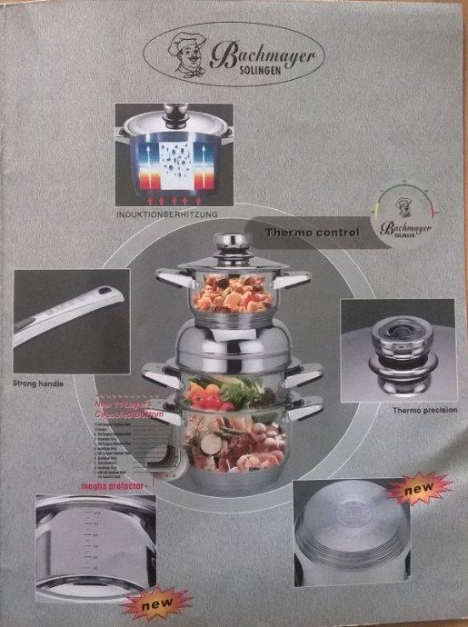 Набор посуды из нержавеющей стали Mayer & Bach из 16 предметов mb-3002