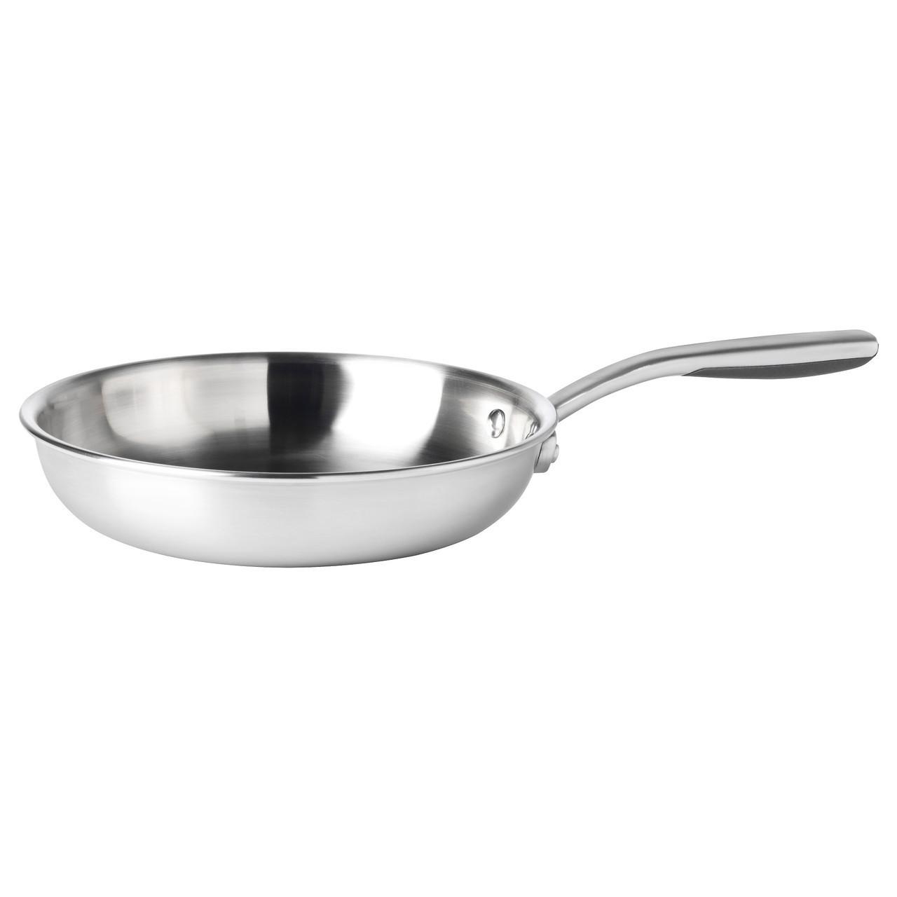 SENSUELL Сковорода, нержавеющ сталь, серый 803.245.43