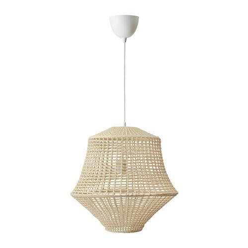 Подвесной светильник IKEA INDUSTRIELL 45 см натуральный бежевый 704.004.86