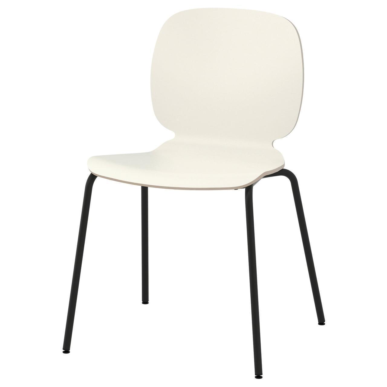 Кресло кухонное IKEA SVENBERTIL Broringe белое черное 391.976.99
