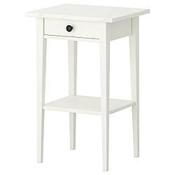 Нічний столик IKEA HEMNES біла морилка 202.004.56