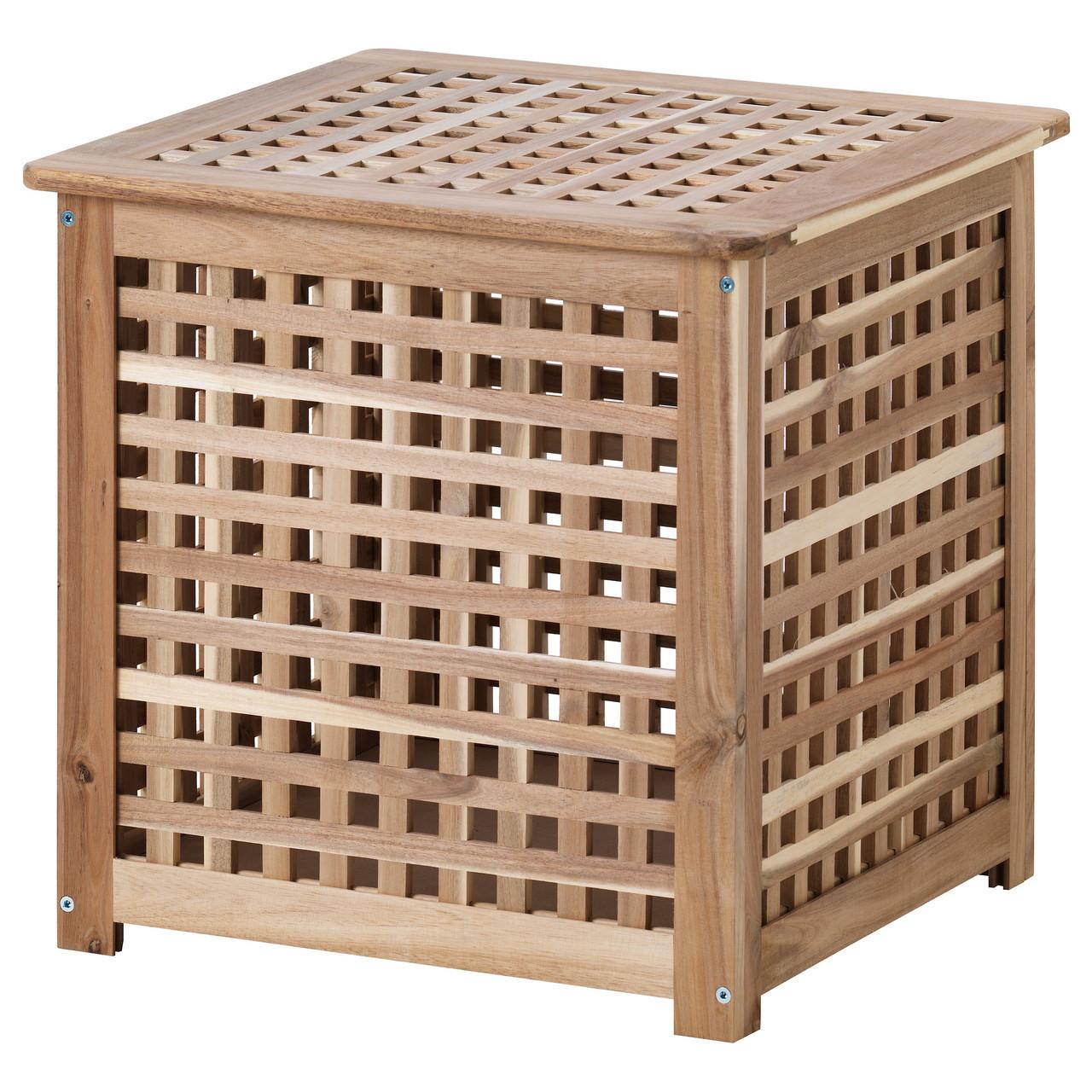 Журнальный столик IKEA HOL придиванный акация 701.613.20