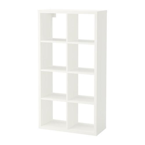 Стеллаж, белый, 69x132 см IKEA FLYSTA 303.772.42